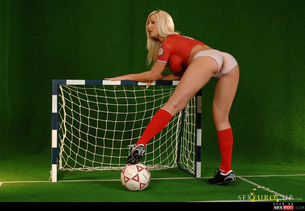 body World cup paint soccer