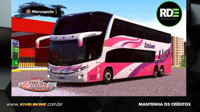 PARADISO G7 1800 DD 6X2 - VIAÇÃO ALVAN TURISMO