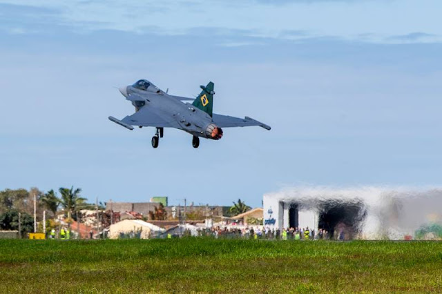 Brazilian Gripen first flight Brazil