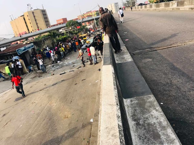 Gunshots as Lagos NURTW rival groups clash in Obalende