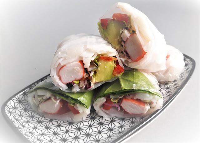 Spring rollsy - wyśmienita i błyskawiczna przekąska na każdą imprezę!