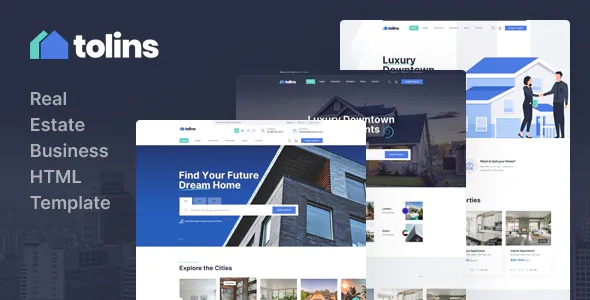 Best Real Estate Business HTML Template