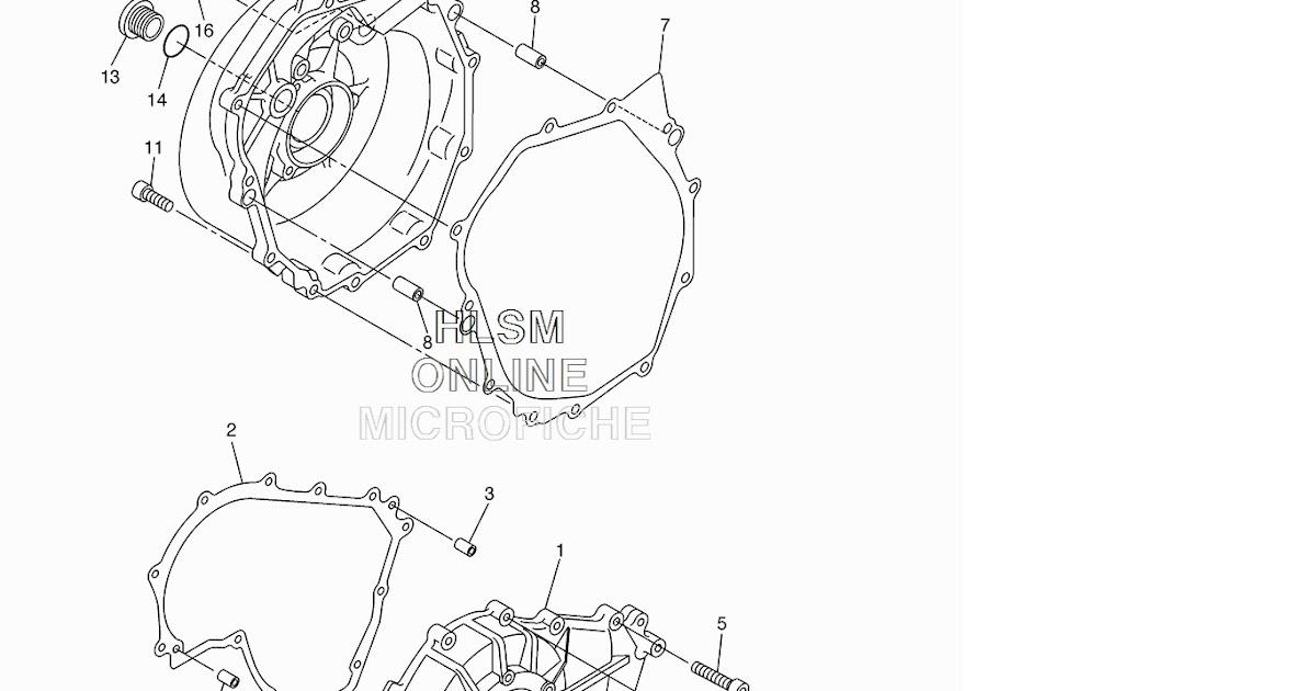 YamahaGenuineParts.com: Crankcase Cover Gasket