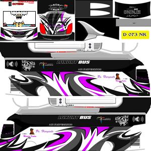 Livery Bussid XHD Po Haryanto Elnino