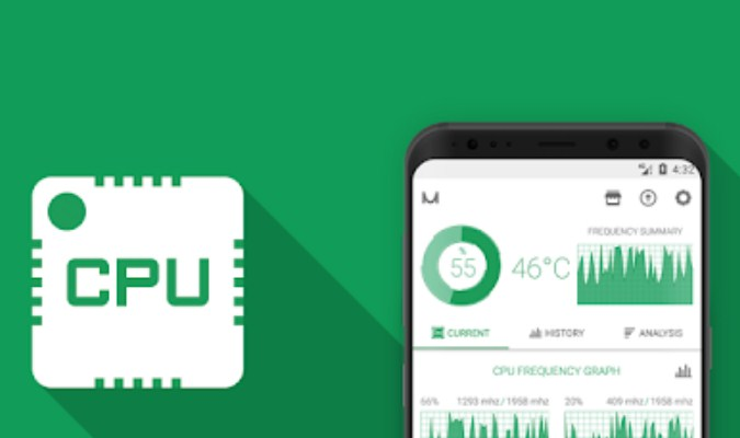 Aplikasi Cek Perangkat Android Berfungsi Baik atau Tidak - CPU Monitor