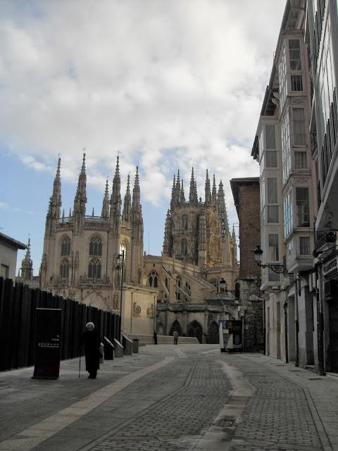 Otra vista de la Catedral de Burgos