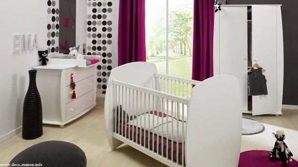 Chambre bébé mixte luxe