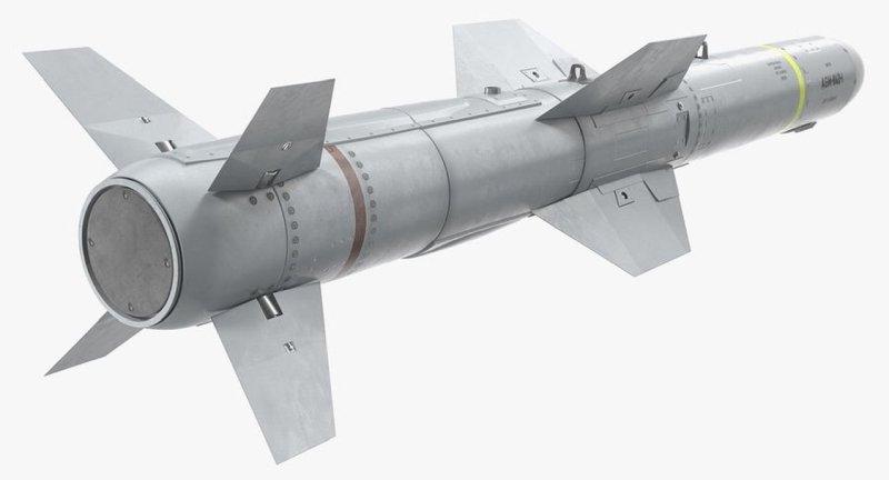 AGM-84 Harpoon Anti-Ship Cruise Missile - AshM - 002 - TN