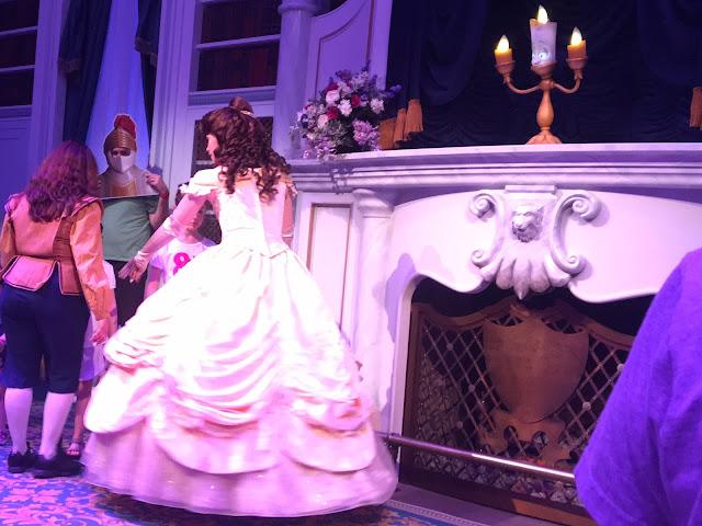 Enchanted Tales With Belle Show Magic Kingdom Walt Disney World