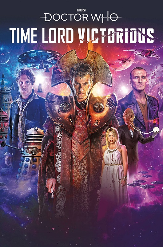 Cover of Doctor Who Time Lord Victorious Vol.1 Tp