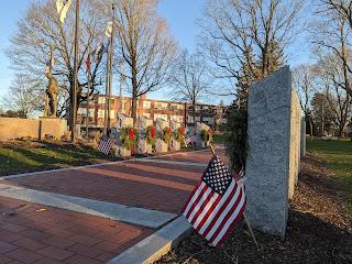 Veterans Memorial Walkway Update