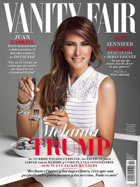 Melania Trump revela oscuro pasado familiar a Vanity Fair