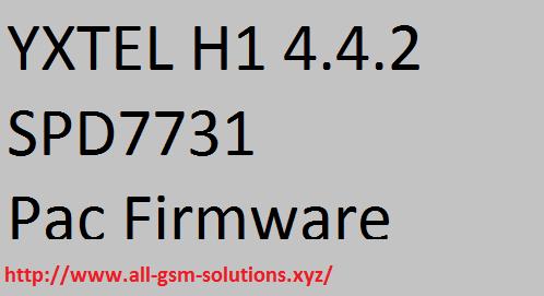 YXTEL H1 Firmware