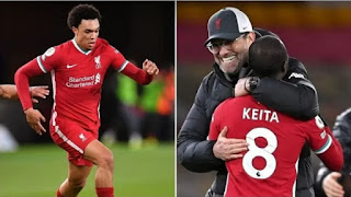 Alexander-Arnold and Keita racially abused after Real Madrid defeat