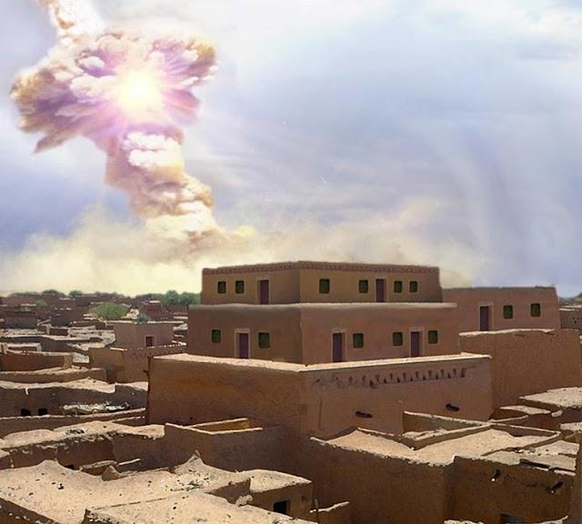 ENIGMAS. ¿Sodoma y Gomorra destruidas por un impacto cósmico?