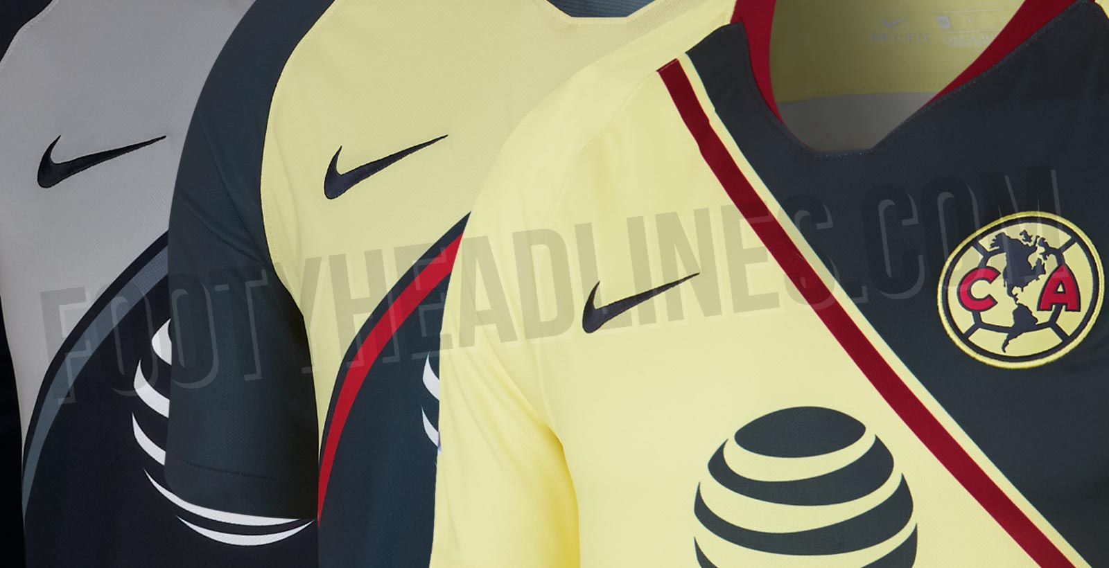 The new Nike Club America 18-19 home and away kits have been leaked  courtesy of  pjimenez71. They are set for a release in July. 2279a7695