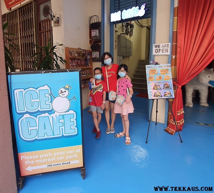 How To Get To Ice Cafe Penang