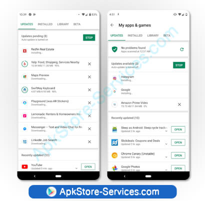 ميزات جديدة في متجر قوقل بلاي Google Play 2020