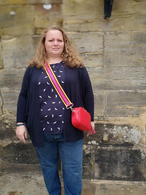 Meg & Bee handbag worn by forties woman