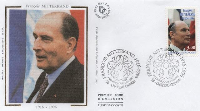 François Mitterrand 1997 FDC