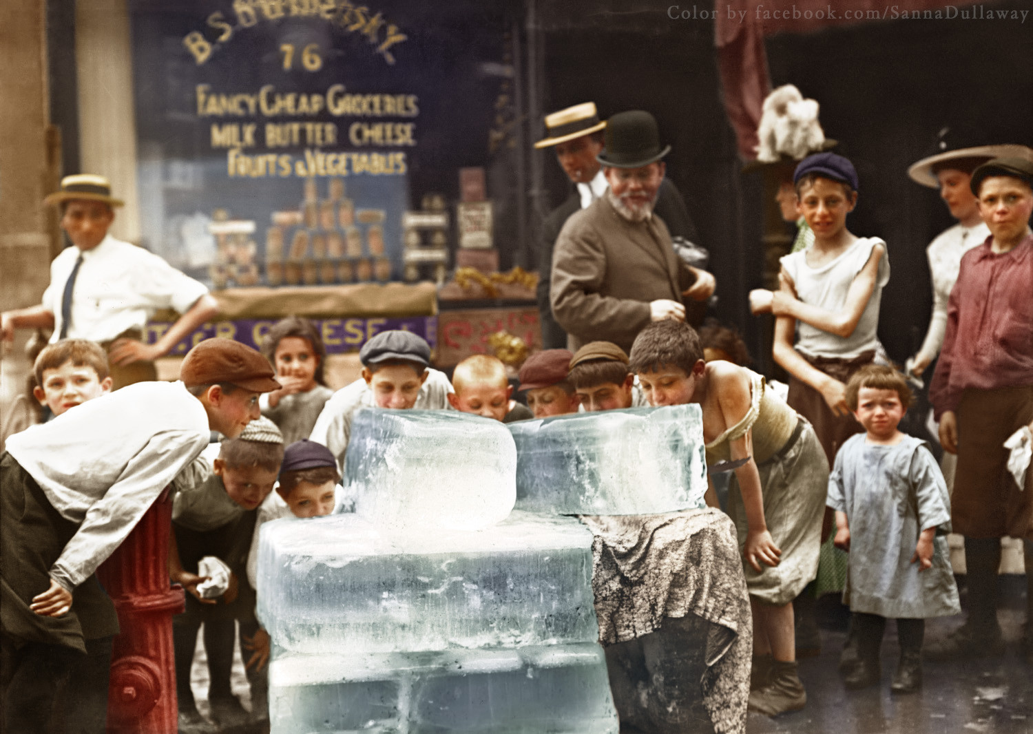 These 35 Incredible Colorized Historical Photographs Will