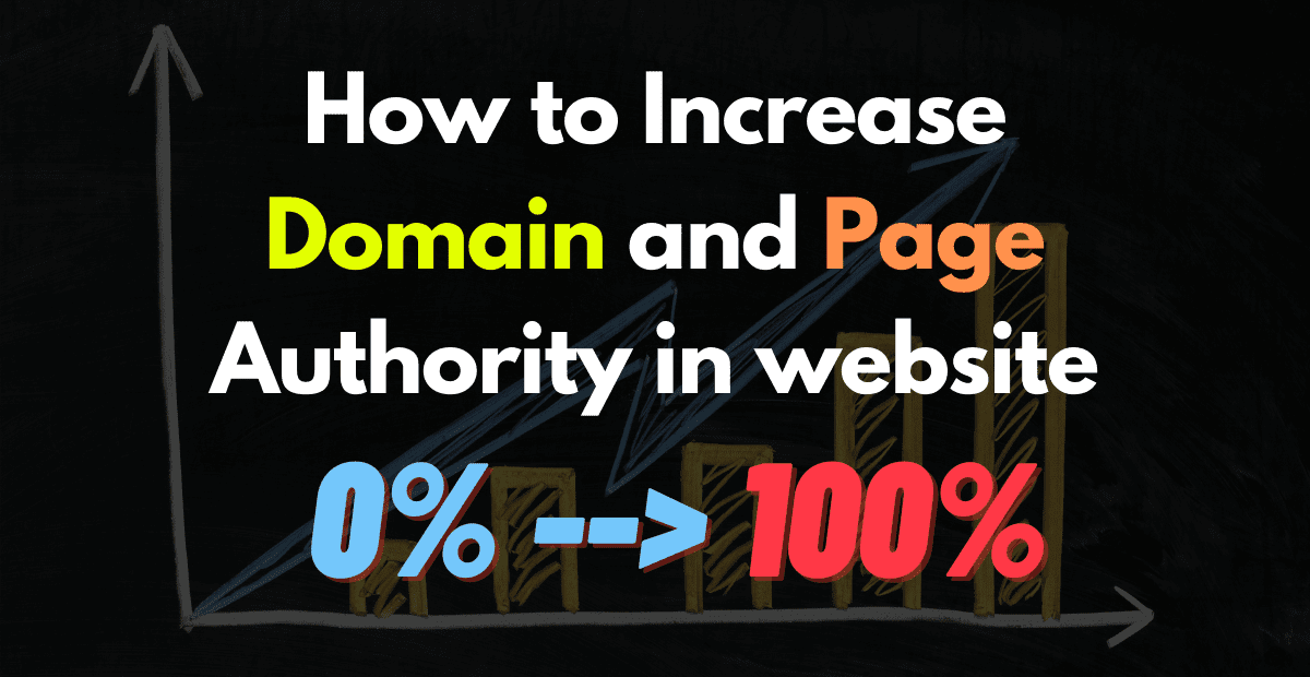 How to Increase your domain & page Authority