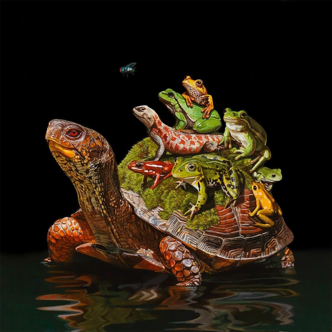 01-Oasis-Lisa-Ericson-Animals-Interspecies-Friendships-Paintings-www-designstack-co