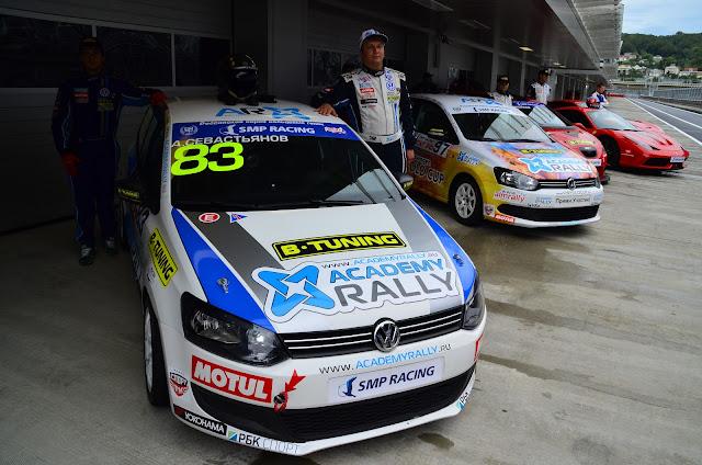 Открытие Сочи Автодрома, SMP Racing