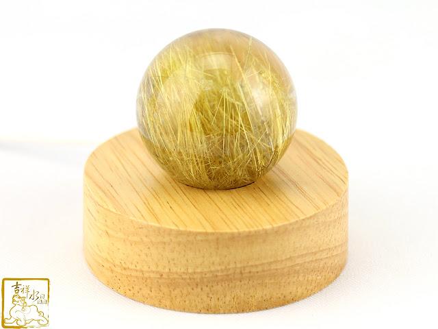 鈦晶水晶球 髮晶球