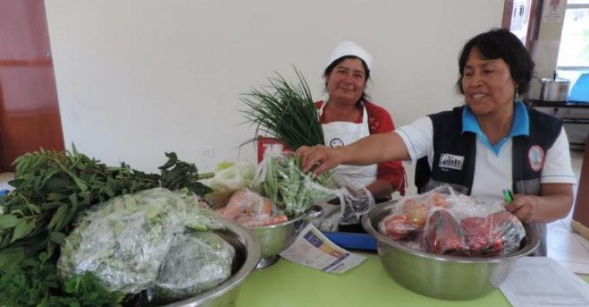 Qali Warma inició la entrega de alimentos frescos a 21 colegios para menús escolares en instituciones educativas de Huamanga - Ayacucho - www.qaliwarma.gob.pe