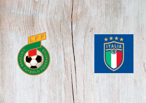 Lithuania vs Italy -Highlights 31 March 2021