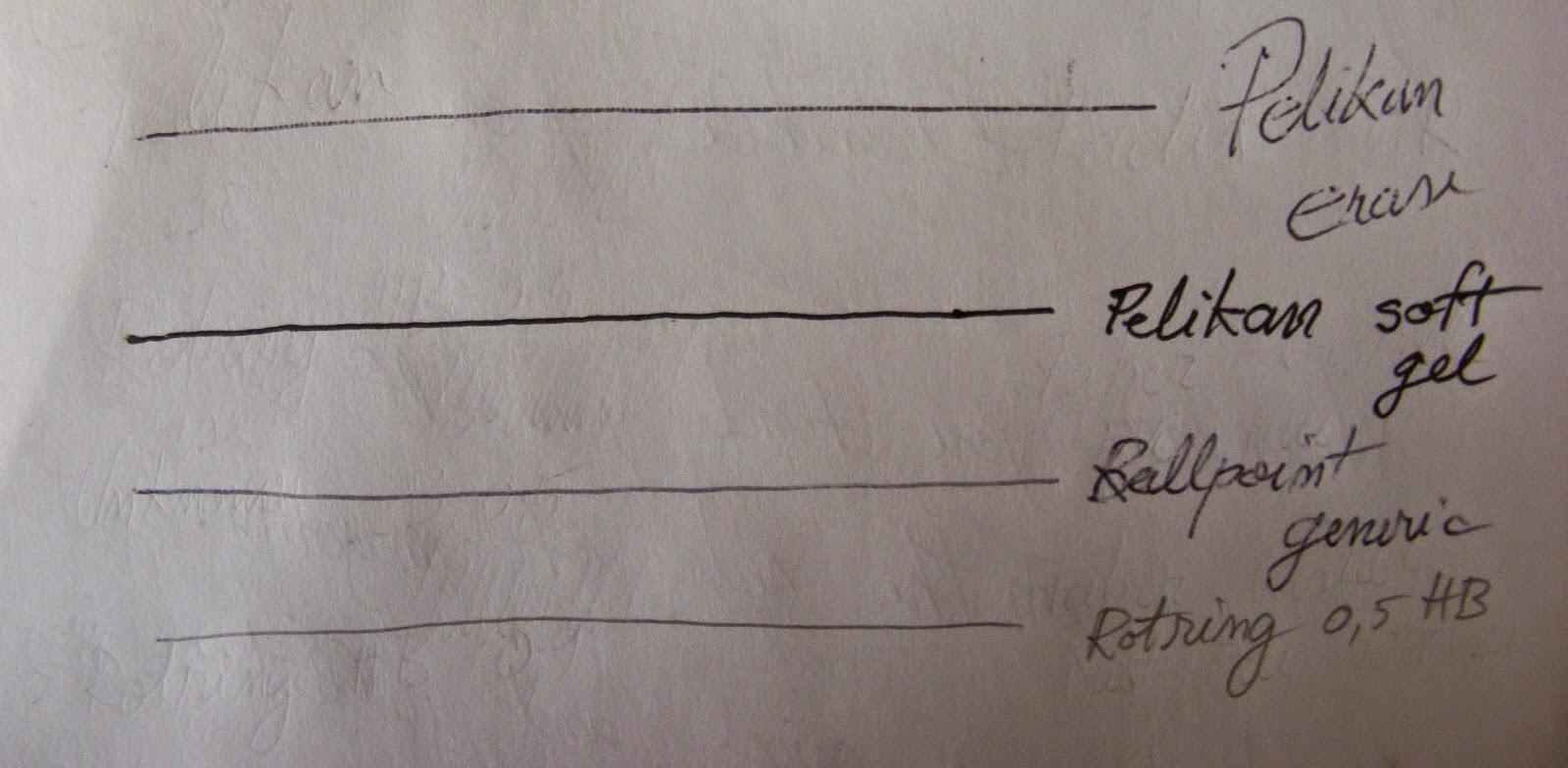 pelikan erasable pen