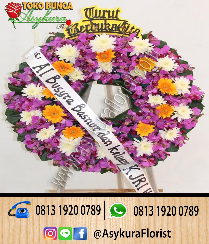Toko Bunga Cikarang - Toko Rangkaian Bunga Krans Turut Bela Sungkawa di Cikarang