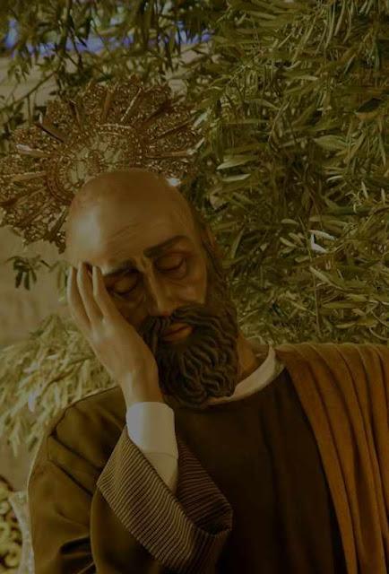 O sono dos Apóstolos no Getsemani
