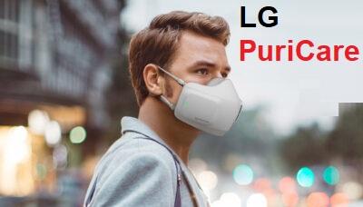 قناع تنقية الهواء إل جي LG PuriCare Wearable