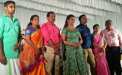 Kerala actress Shalu Kurian engagement