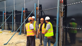 PDAM Kota Cirebon Pastikan Reservoir 9000 M3 Jadi Distribusi Maksimal