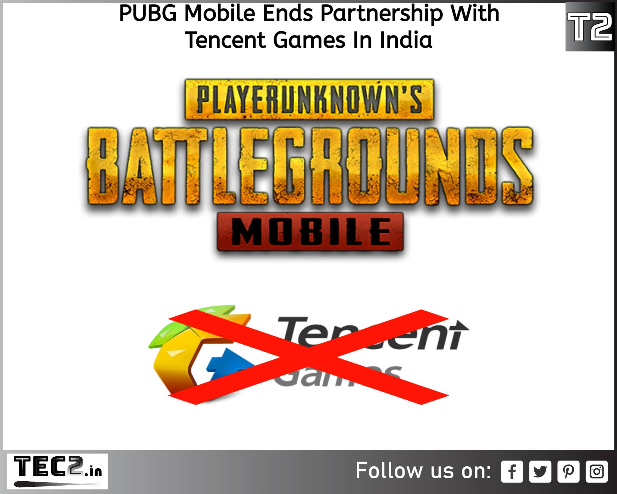 PUBG Mobile cuts off with tencent