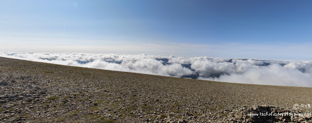 Ruta: Torreta de Cadi (2.562 m.) y Vulturó (2.649 m.). Un paseo por las nubes. (Els 100 Cims).