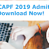 UPSC CAPF Admit Card 2019 Released - Download Here CAPF Call Letter!