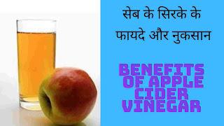 सेब के सिरके (apple cider vinegar) के 11फायदे, नुकसान और उपयोगिता जानिए