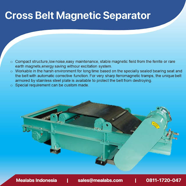 cross belt magnetic separator