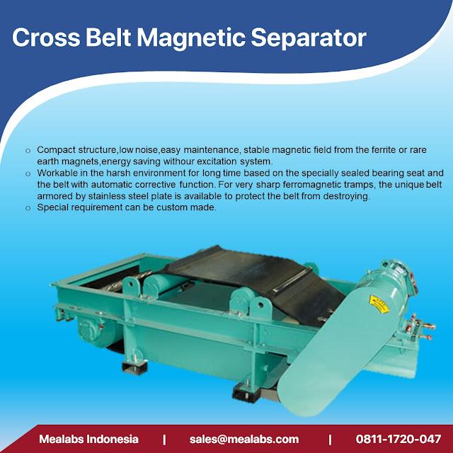 cross belt magnetic separator