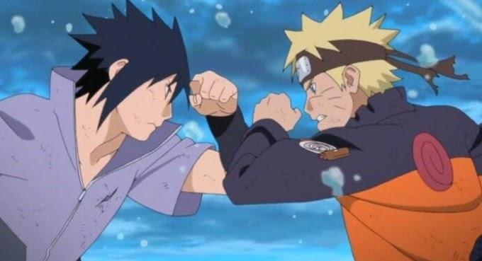 Este é o motivo especial para Naruto usar a cor laranja e Sasuke usar roxo