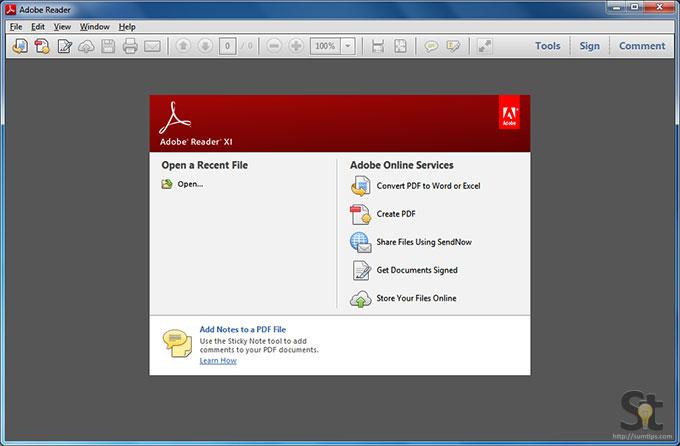 free download adobe reader xi for windows 7 64 bit