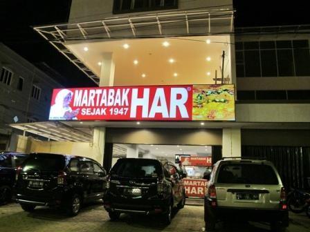 Tempat Wisata Kuliner Populer Martabak HAR di Palembang