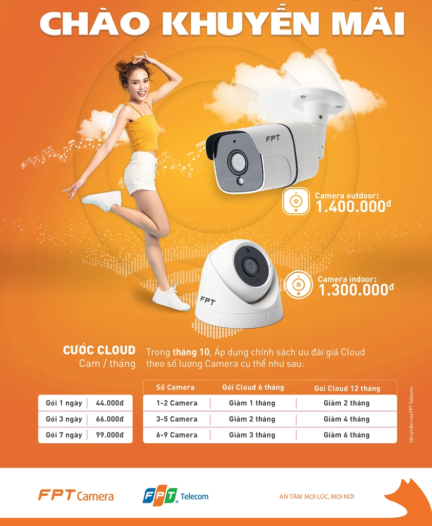 Khuyến mãi lắp Camera FPT Củ Chi