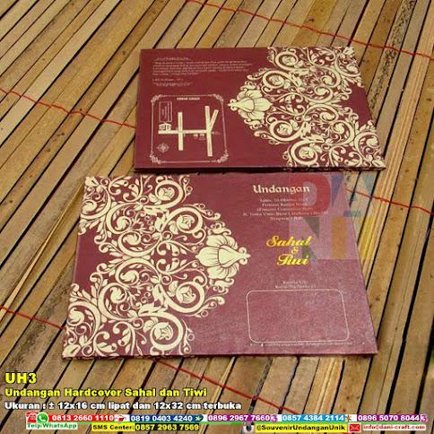 Undangan Hardcover Sahal Dan Tiwi