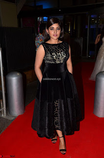 Niveda Thomas Black Sleeveless Cute Dress at 64th Jio Filmfare Awards South 2017 ~  Exclusive 027.JPG