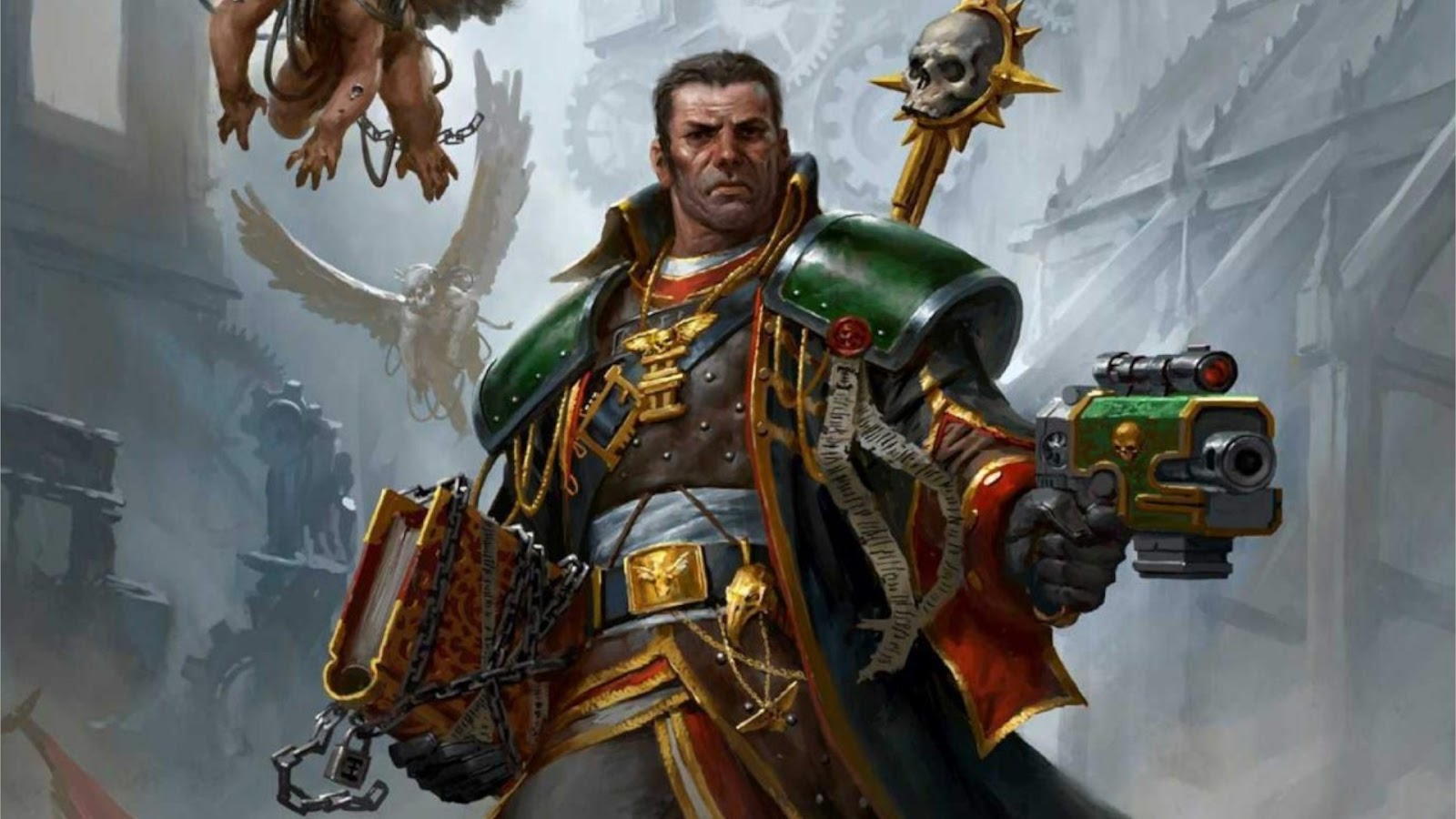 News Collider - Eisenhorn Live Action TV Show Warhammer 40k Games Workshop